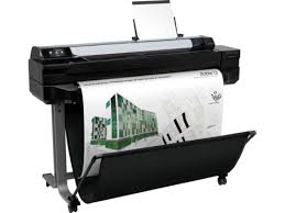 HP DesignJet T520 36-in Large Format Printer