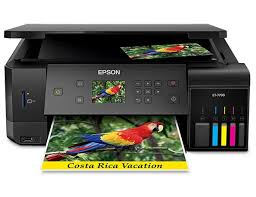 Epson EcoTank ET-7700 A4 Colour Multifunction Inkjet Printer